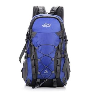 Trekkingrucksack mit 40L Wanderrucksack Fassungsvermögen aus strapazierfähigem Nylon. Großer Rucksack, perfekt zum Wandern, Bergsteigen, Reisen und für Sport und Camping - 3